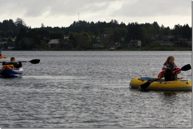 Lake School Canoeing