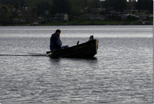 Lake School Dad on the Lake