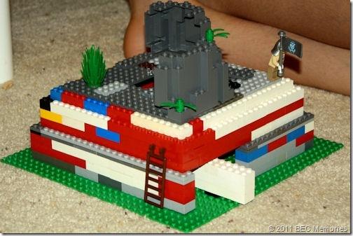 LEGO Ideas - Mesopotamian ziggurat (micro model)