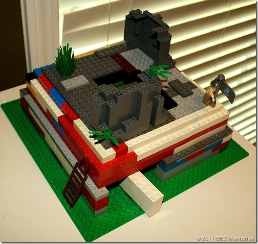 Spencer's Lego Ziggurat of Ur - YouTube
