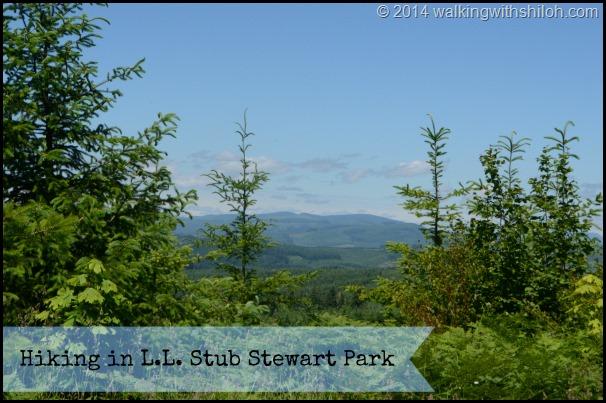 Hiking in L.L. Stub Stewart Park