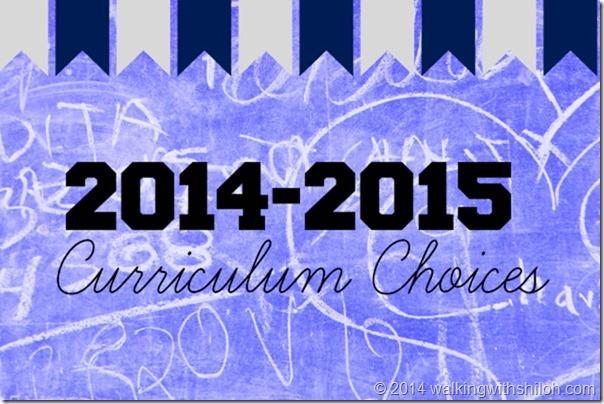 2014-2015 Curriculum Choices High School