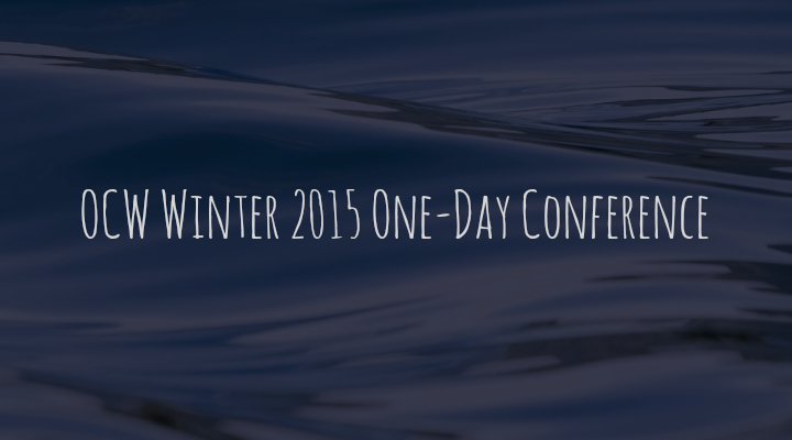 OCW Winter 2015 One-Day Conference